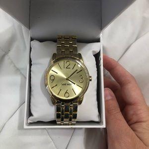 Nine West Gold watch